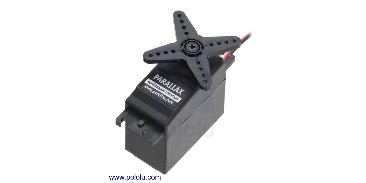 Pololu - Parallax (Futaba S148) Continuous Rotation Servo #900-00008