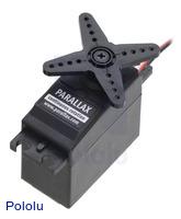 Parallax (Futaba S148) Continuous Rotation Servo #900-00008