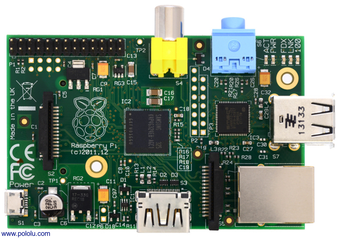 Raspberry Pi Model B, Revision 2 0