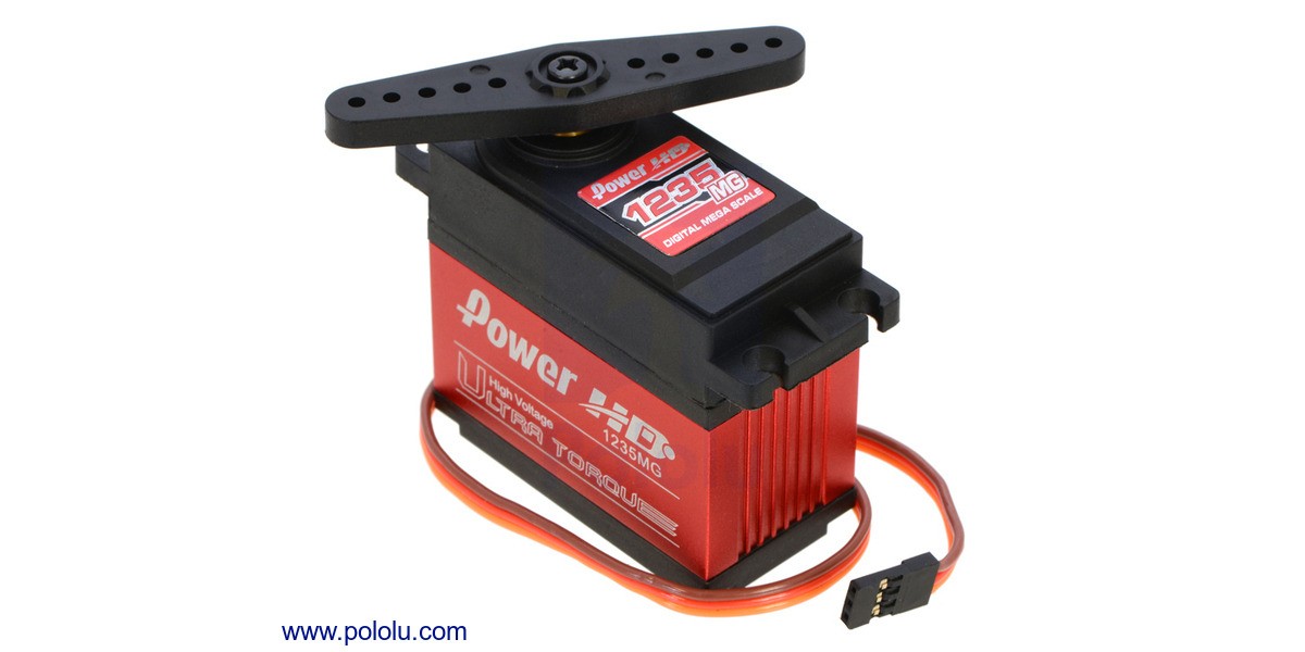 Pololu Power HD High-Torque Servo 1501MG 1057