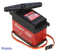 Power HD ultra-high-torque, high-voltage digital giant servo HD-1235MG.