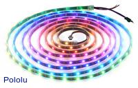 Addressable RGB 150-LED Strip, 5V, 5m (WS2812B)