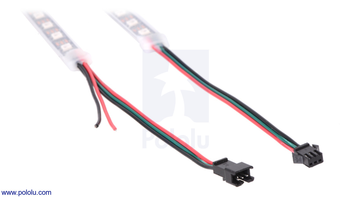 Pololu - Addressable RGB 120-LED Strip, 5V, 2m (WS2812B)