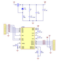 A4990 Dual Motor Driver Carrier schematic diagram.