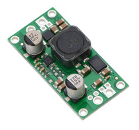 Pololu step-up/step-down voltage regulator S18V20F5, S18V20F6, S18V20F9, and S18V20F12.
