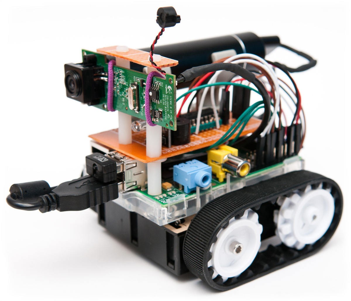 raspberry pi robot projects Raspberry pi robotics wearables difficulty duration clear all all projects this project displays live traffic conditions between two locations on a.