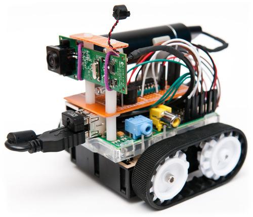 Raspberry Zumo Robot