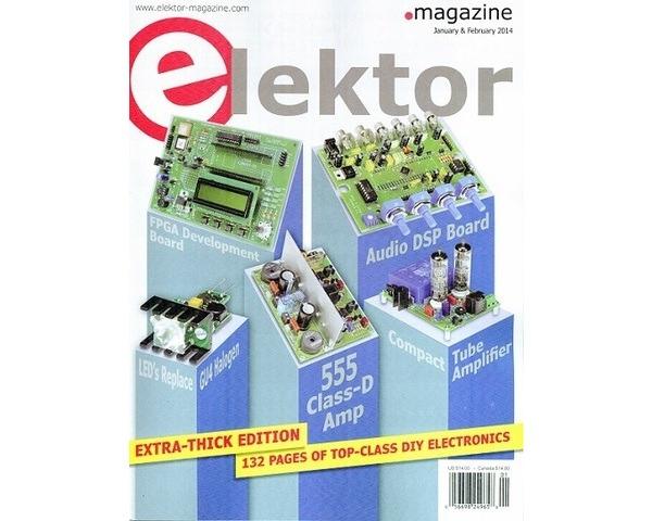 Pololu - Free Elektor magazine January/February 2014
