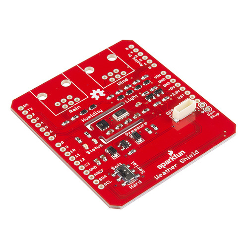 New product: SparkFun Weather Shield for Arduino