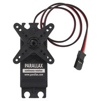 Parallax (Futaba S148) continuous rotation servo.