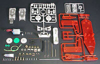 Tamiya 71102 Mechanical Kangaroo kit contents.
