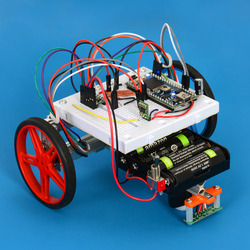 David and Fang's dead reckoning robot based on the mbed LPC1768