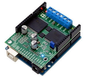 Pololu Dual VNH5019 Motor Driver Shield User's Guide
