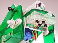 Tamiya 71103 Mechanical Beetle control switch close-up.