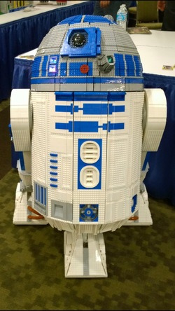 L3-G0: the full-size, LEGO R2-D2