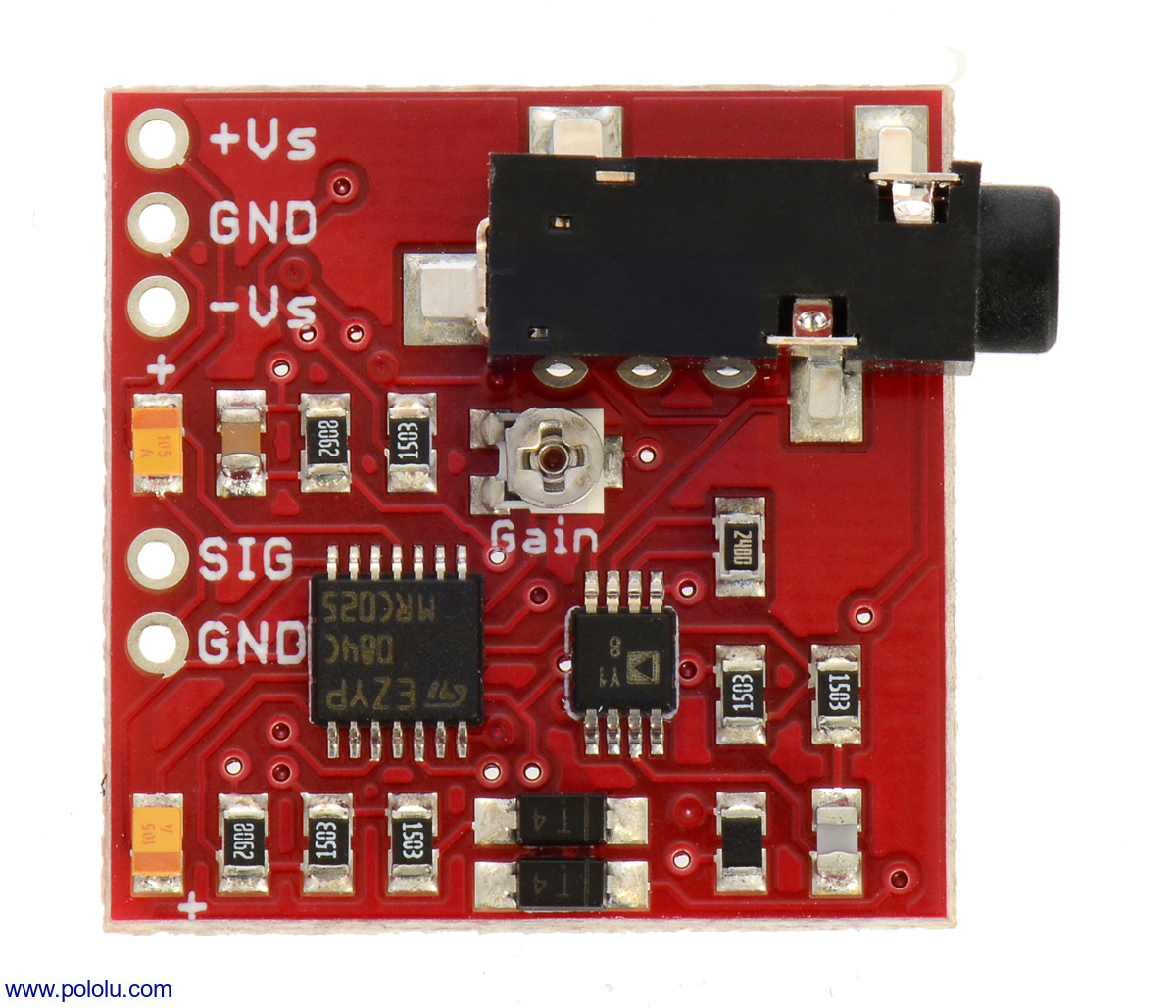 Pololu Advancer Technologies Muscle Sensor V3 Lowcost Shipment Shock Using A 6pin Sot23 Microcontroller An Error Occurred