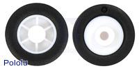 14×4.5mm Wheel Pair for Sub-Micro Plastic Planetary Gearmotors