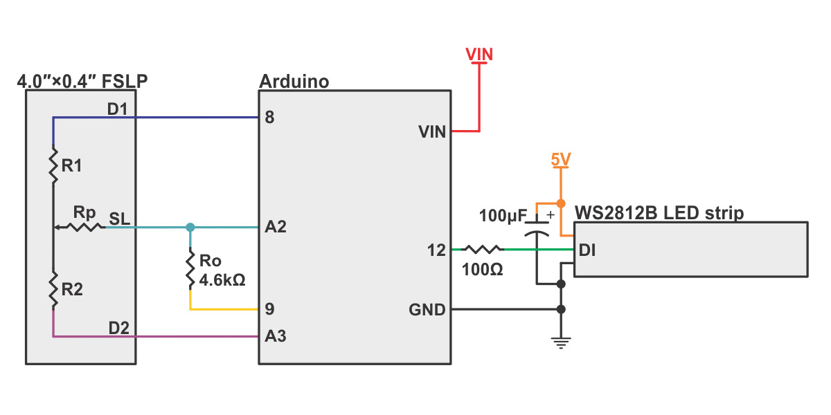 Diagram Example Wiring Diagram For Controlling A Ws2812b Led Strip