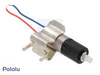 136:1 Sub-Micro Plastic Planetary Gearmotor 6Dx19L mm