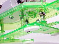 Tamiya 71106 Mechanical Turtle ball joint close-up.