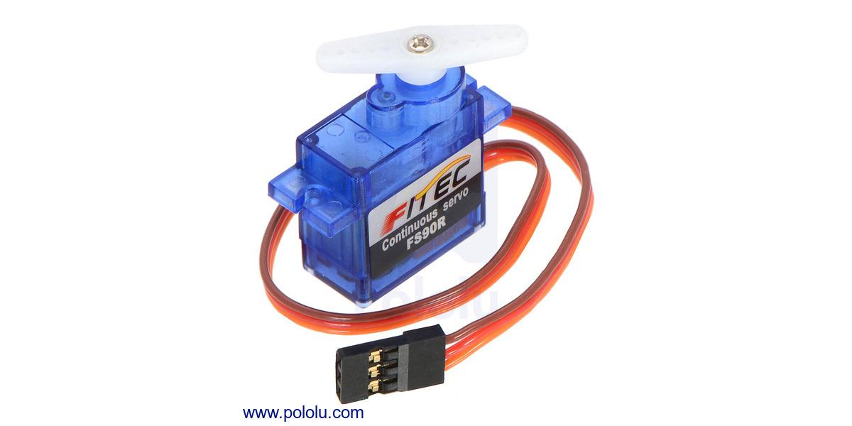 Pololu - FEETECH FS90R Micro Continuous Rotation Servo