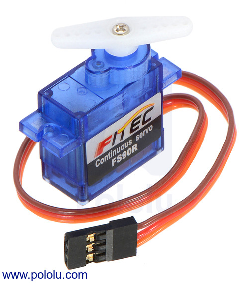 New product: FEETECH FS90R Micro Continuous Rotation Servo