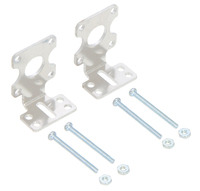 Pololu Extended Stamped Aluminum L-Bracket Pair for Plastic Gearmotors