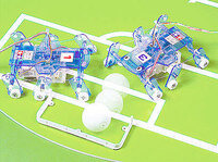 Tamiya 71107 Mechanical Insects in a soccer game.