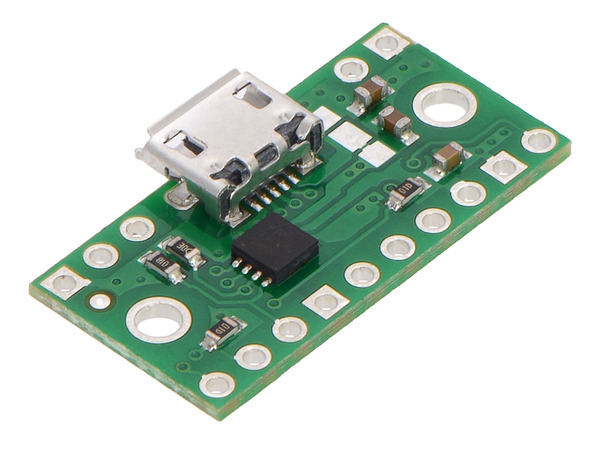 New product: TPS2113A Power Multiplexer Carrier with USB Micro-B Connector