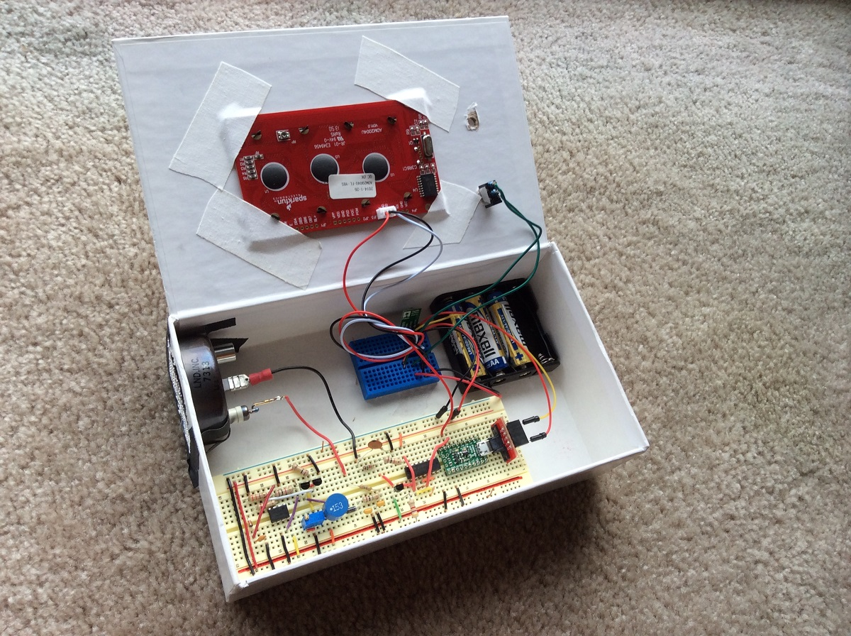 Pololu Blog Page 45 Electronic Ear For Lego Rcx Module Geiger Counter Using A Star