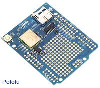 Adafruit CC3000 Wi-Fi Shield for Arduino with Onboard Ceramic Antenna