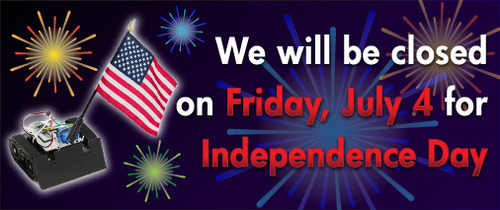 Closed Friday, July 4