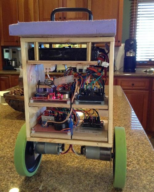 TwoPotatoe balancing robot