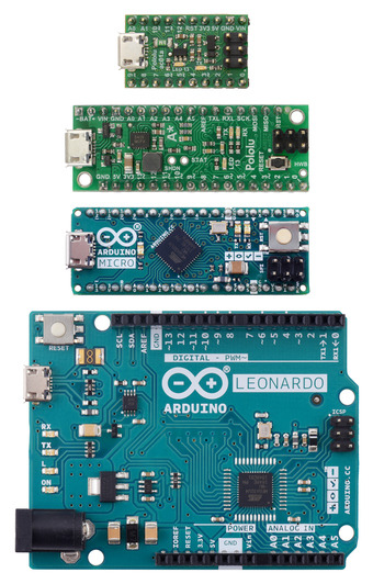 Programming the Leonardo for keyboard and mouse