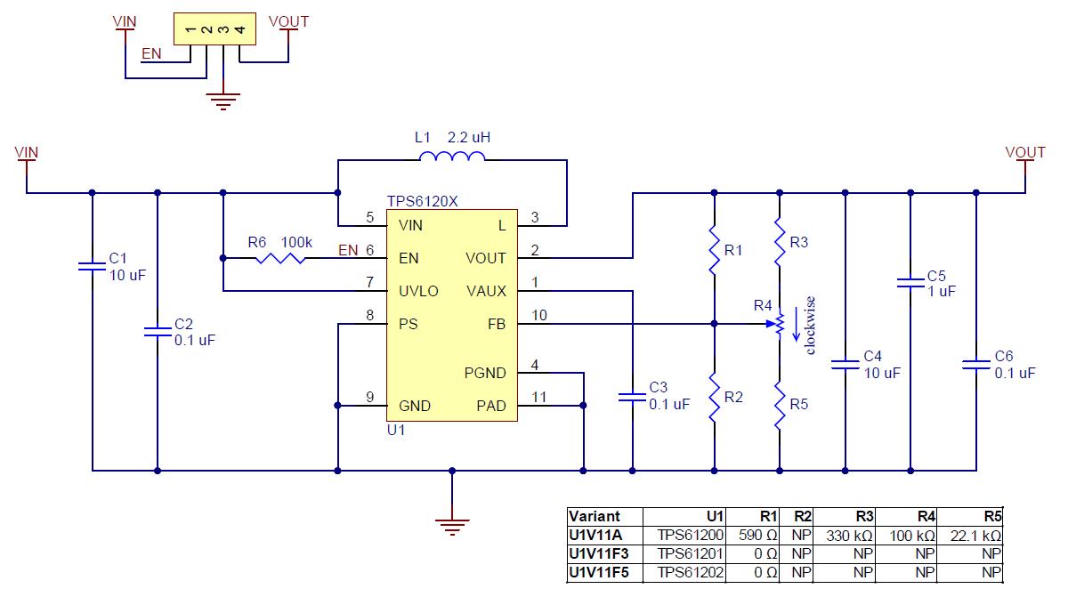 Pololu Step Up Voltage Regulator U1v11x Schematic Diagram Circuit