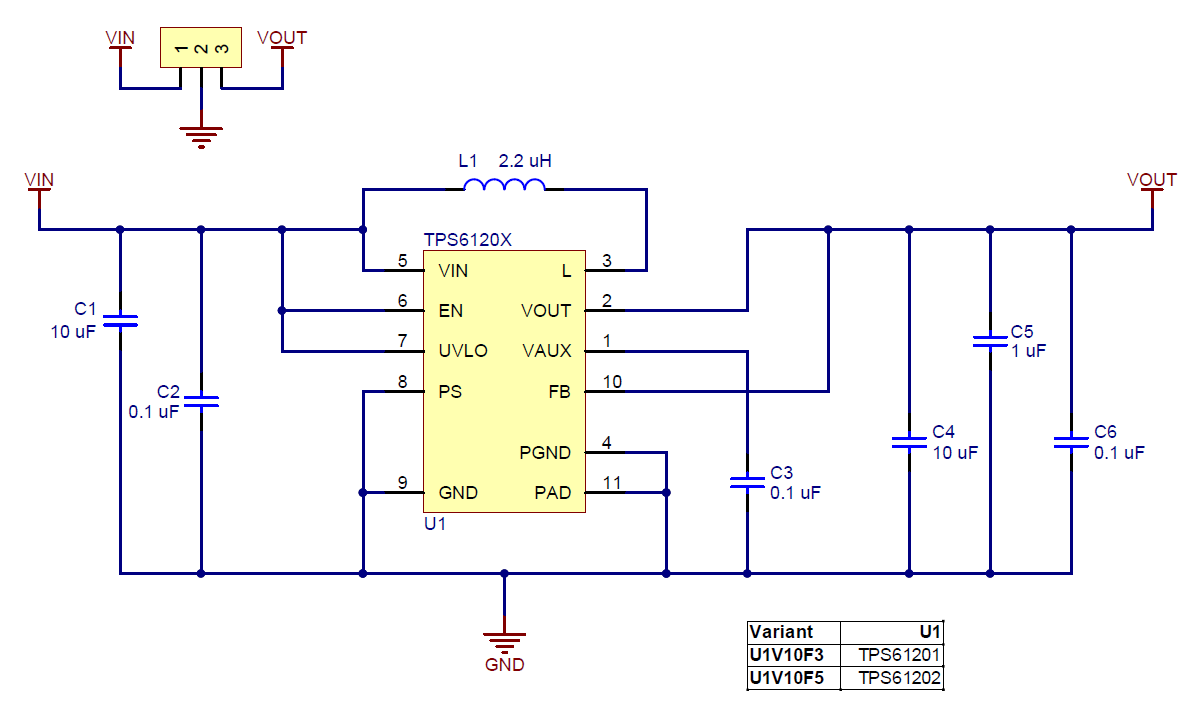 J on boost converter circuit diagram