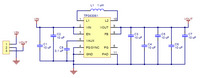Pololu 5V Step-Up/Step-Down Voltage Regulator S7V7F5 schematic diagram.
