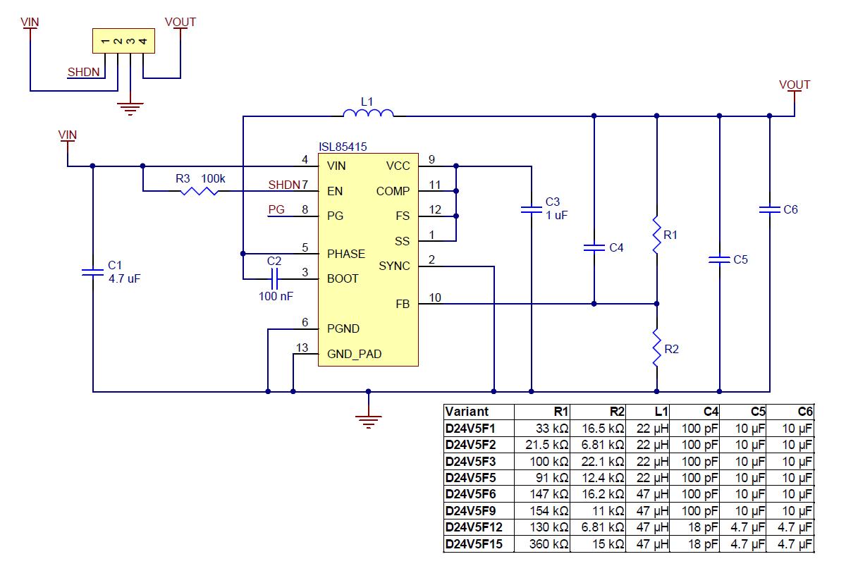 Pololu 12v 500ma Step Down Voltage Regulator D24v5f12 1 18v To Circuit D24v5fx Schematic Diagram