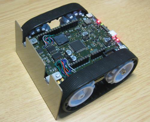 Modding the Zumo: encoders, WiFi, GPS, USB, 120 MHz, and joystick control