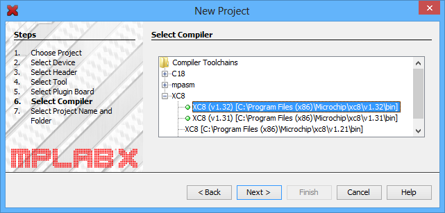 Pololu - 5 3  Compiling a program with MPLAB X and XC8