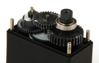 Hitec HS-5475HB servo gears and ball bearings.