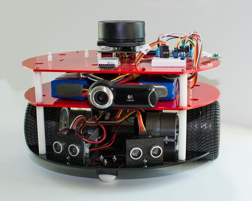 RoboNUC: Netduino and LIDAR robot