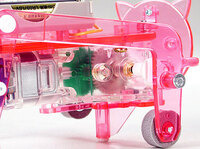 Tamiya 71111 Mechanical Pig gearbox close-up.