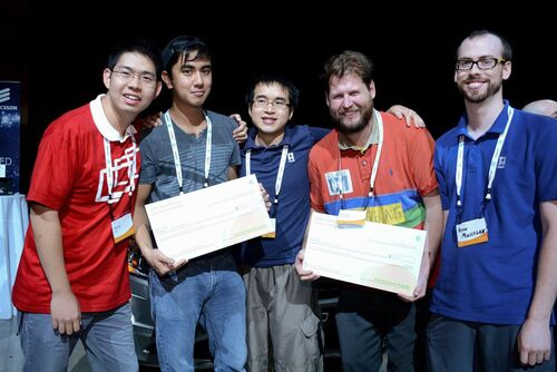 Pololu engineers win at AT&T Car and Home Hackathon