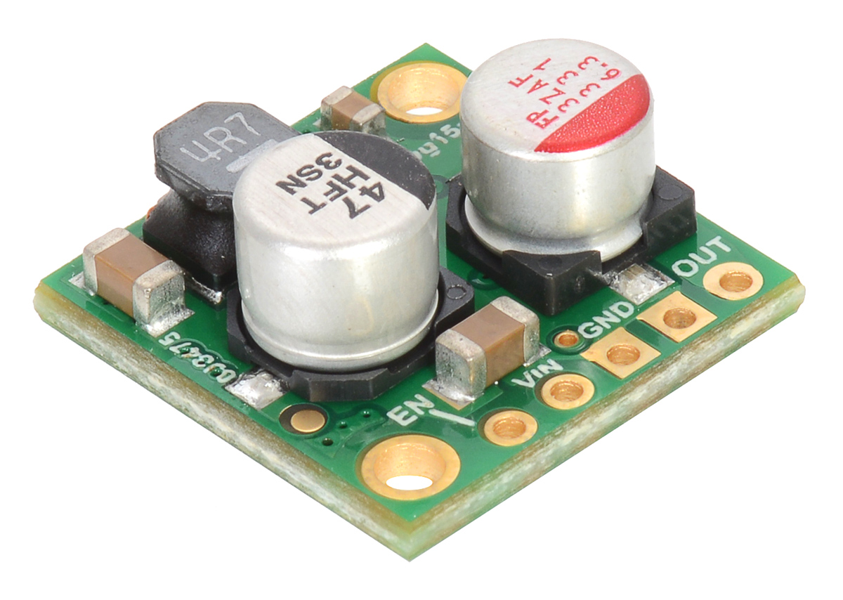 Pololu New Product 5v 25a Step Down Voltage Regulator D24v25f5 Equivalent Circuit Analogcircuit Basiccircuit