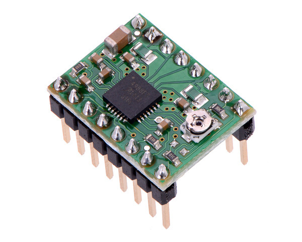 Pololu A4988 Stepper Motor Driver Carrier Bulk Header
