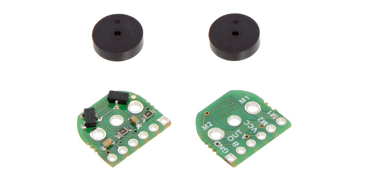Pololu - Magnetic Encoder Pair Kit for Micro Metal Gearmotors, 12