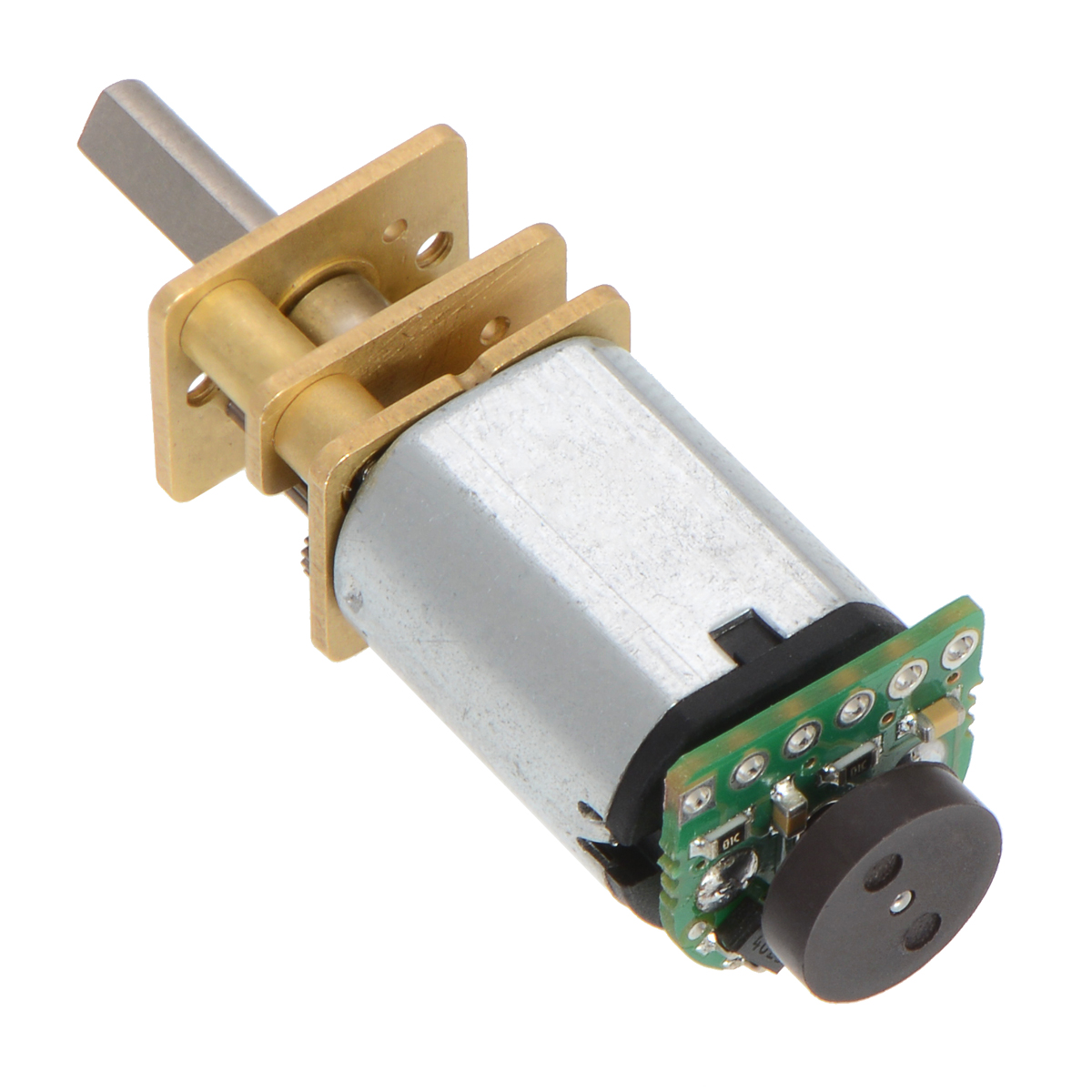 Pololu - New products: Magnetic quadrature encoders for