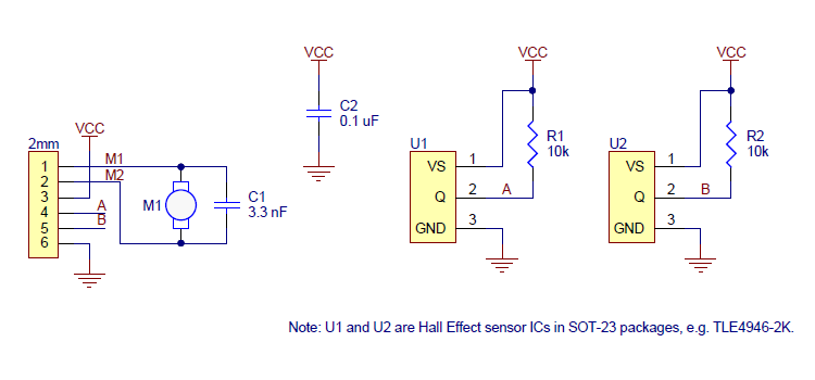 Magnetic Encoder Wiring Diagram on