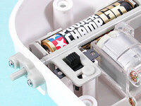 Tamiya 71114 Mechanical Blowfish power switch close-up.